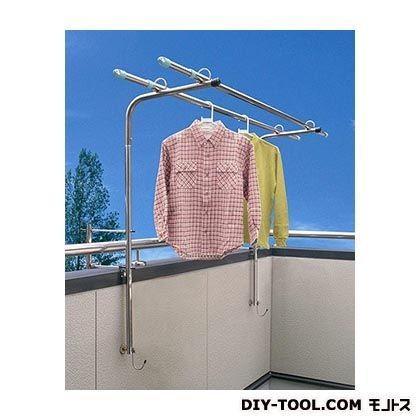モリ工業 ベランダ用物干し台壁手すりタイプ 191225 - DIY FACTORY ONLINE SHOP