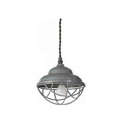 メルクロス テラスハンマートン塗装4灯ペンダントライト グレー 15×H12cmコード長:1m 2944