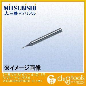 ミツビシマテリアル ミラクルテーパエンドミル MMCA4905 1本