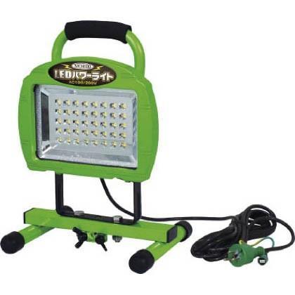 日動 LEDパワーライト20W床スタンド型 290 x 320 x 140 mm LEN-20W-40PMS