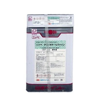 日本ペイント クリンカラーUファイン CB2グリーン 15kg ニッペ 床