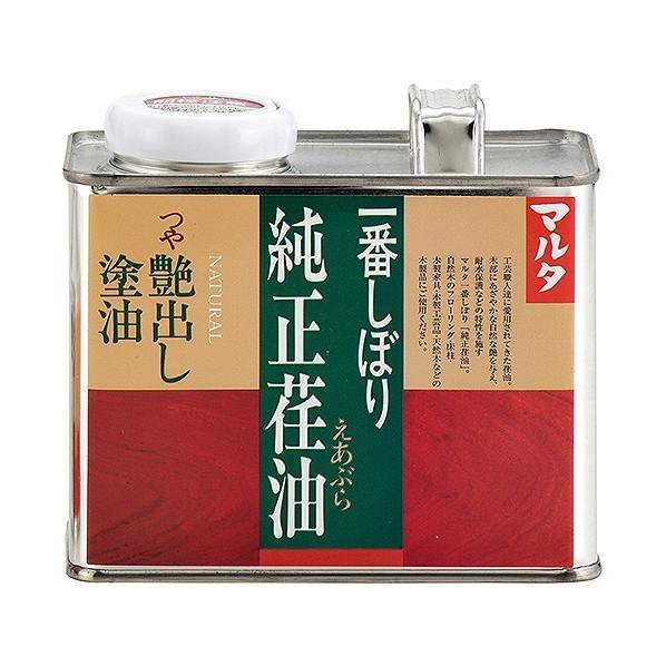 太田油脂 マルタ一番しぼり純正荏油/艶出し塗油 500g :o39-0040:DIY ...