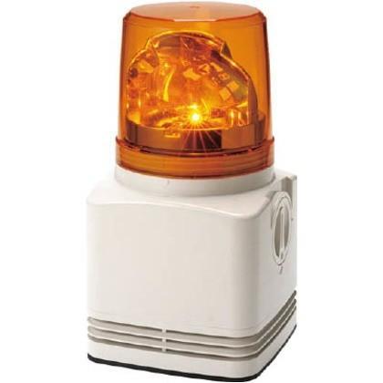 パトライト 電子音内蔵LED回転灯 RFT-220A-Y