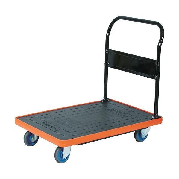 トラスコ(TRUSCO) MKP樹脂製台車固定式906X616エアキャスター付 908 x 613 x 196 mm MKP-302AC