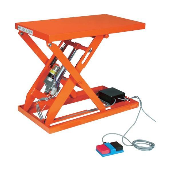 トラスコ(TRUSCO) テーブルリフト150kg(電動Bねじ式100V)400×500mm HDLL1545V12
