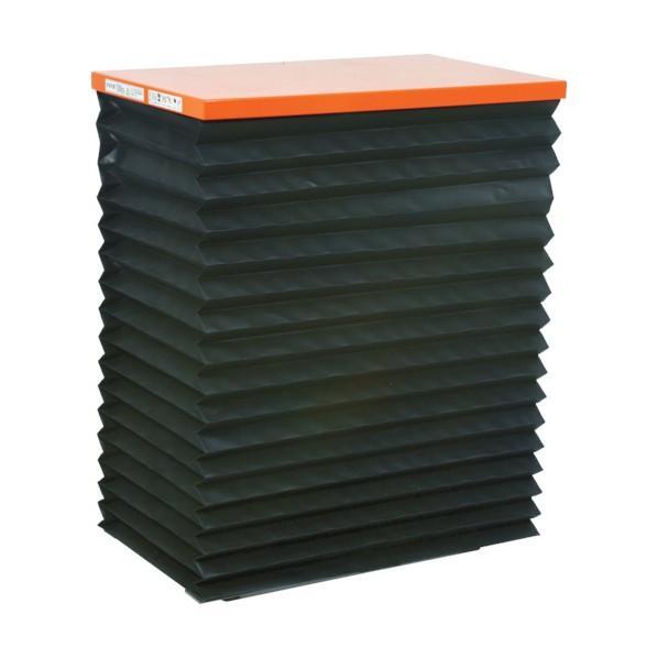 トラスコ(TRUSCO) テーブルリフト150kg電動Bねじ100V蛇腹付520×630mm HDLL1556VJ12