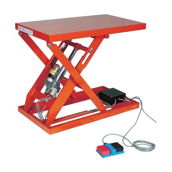 トラスコ(TRUSCO) テーブルリフト1000kg電動Bねじ200V650×1200mm HDLL100612V22
