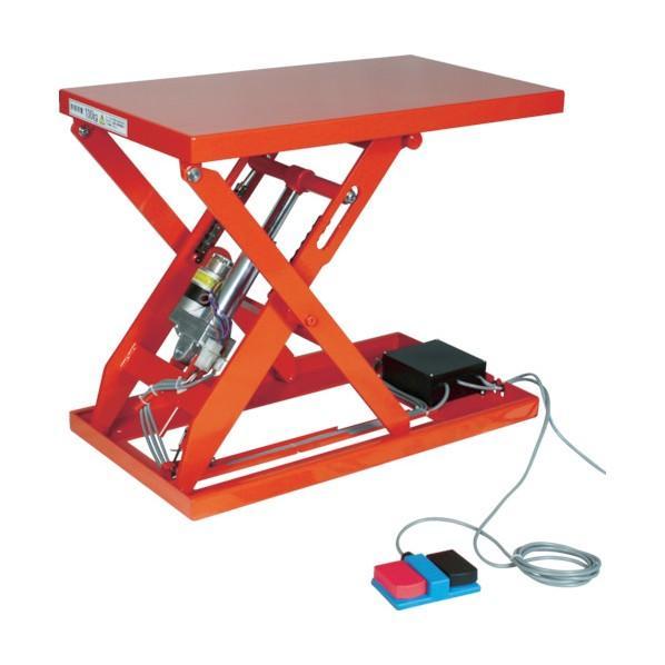 トラスコ(TRUSCO) テーブルリフト1000kg電動Bねじ200V800×1200mm HDLL100812V22