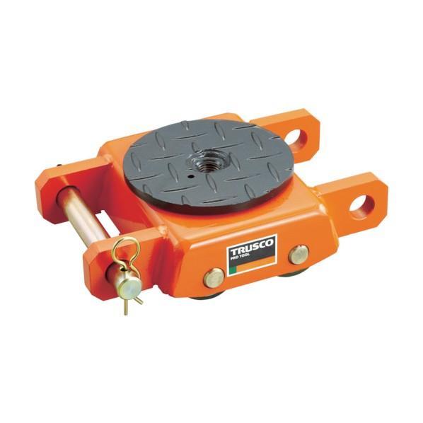 トラスコ(TRUSCO) オレンジローラーウレタン車輪付標準型5TON 368 x 310 x 180 mm TUW-5S