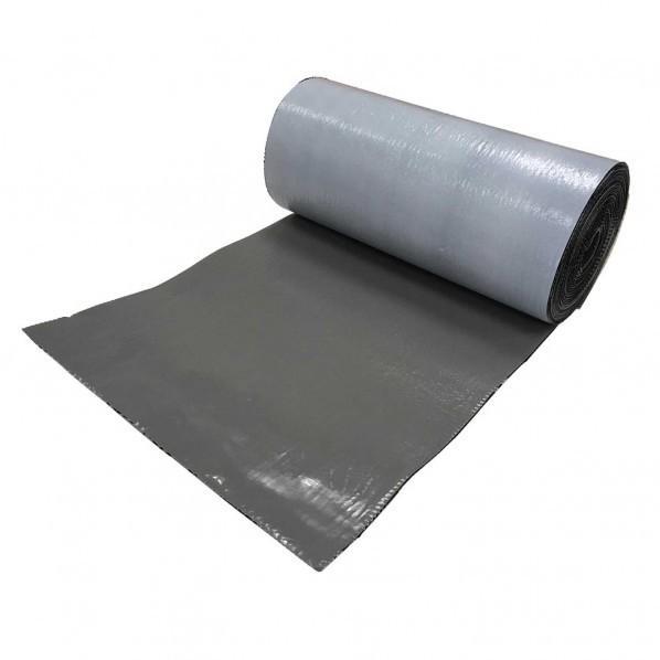 タイセイ 万能防水シート ファストフラッシュ グレー 寸法(幅×長さ):280×5000mm