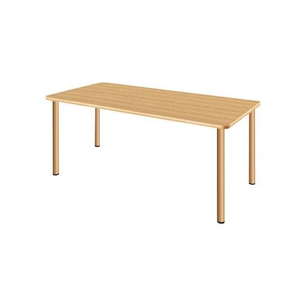 タック販売 施設向テーブル ナチュラルオーク ガーデンテーブル・チェア UFT-4S1675-NK 1台