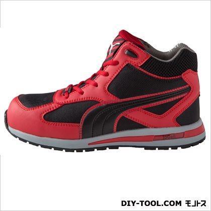 PUMA SAFETY フルツイスト・・ミッド 作業用靴 レッド 27.0cm 63.201.0 0足|diy-tool|02