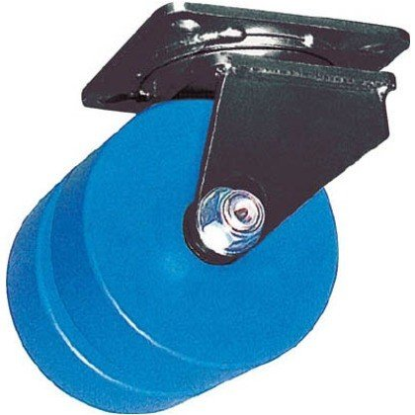 ヨドノ 鋳物超重荷重用双輪キャスター自在車MCナイロン車輪付MCWg150X75 MCW-G150X75