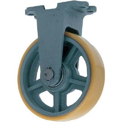 ヨドノ 鋳物重荷重用ウレタン車輪固定車付きUHBーk360X90 UHB-K360X90