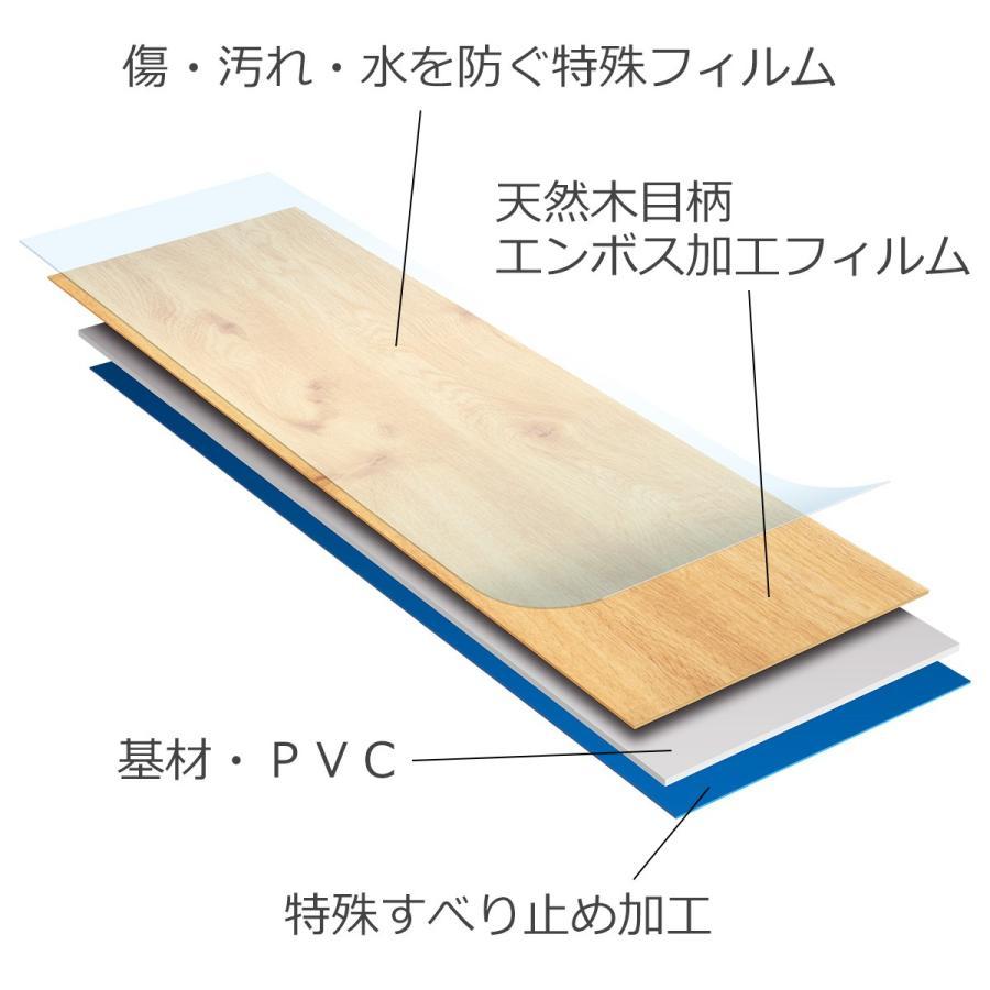 フローリング 床材 フロア オクユカ10枚入り フローリング材 DIY 簡単 diystyle 13