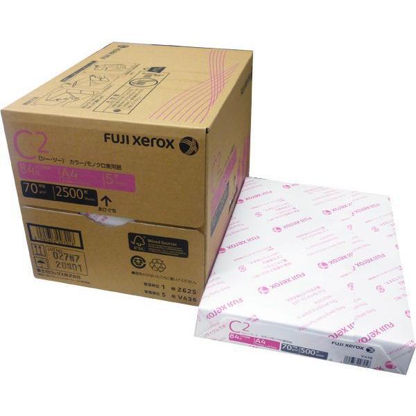 富士ゼロックス C2 複写機用紙 A4 2500枚(1箱)|dkom