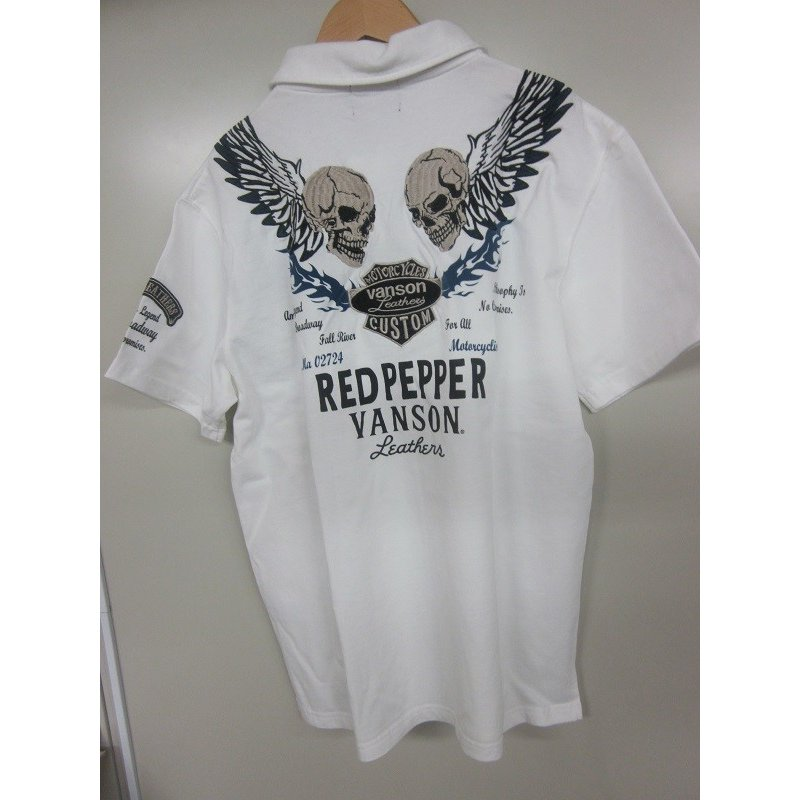 レッドペッパー×バンソンコラボメンズポロシャツ51ME-07|dmzfree|05