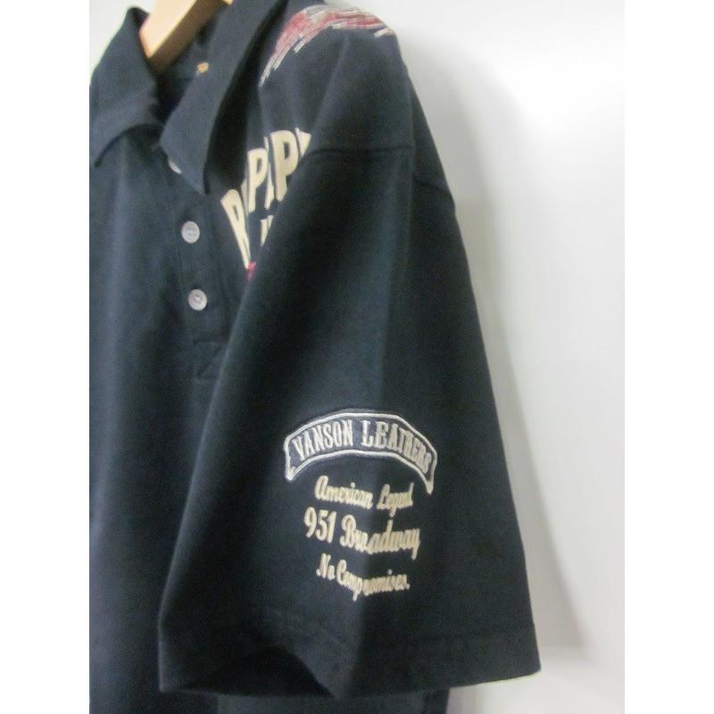 レッドペッパー×バンソンコラボメンズポロシャツ51ME-07|dmzfree|06