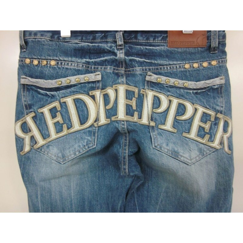 RED PEPPER レッドペッパー ストレートジーンズ♯RJ2040|dmzfree