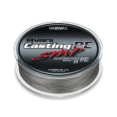 アバニ キャスティングPE SMP[スーパーマックスパワー] 300m 10号 150LB color ステルスグレーベースのマーキングライン [バリバス・VARIVAS・(モーリス)]