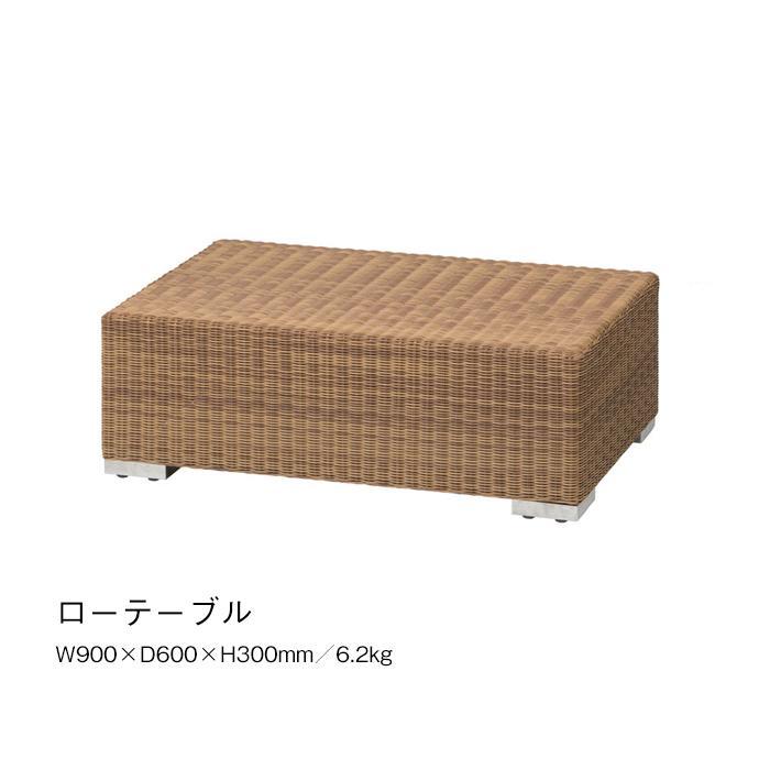 ローテーブル サイドテーブル リビング テラス 人工ラタン ガーデンファニチャー Loom garden ロムガーデン ベベック TK-1227