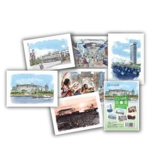 にいがた百景 ポストカードセット Part2|doc-furusatowari