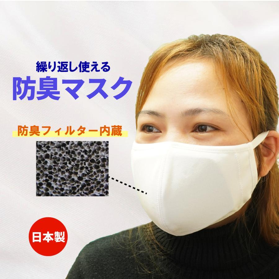 もうニオイを我慢しない 強力 防臭マスク 臭い 腐敗臭 介護 フィルター【日本製】|dogpedear
