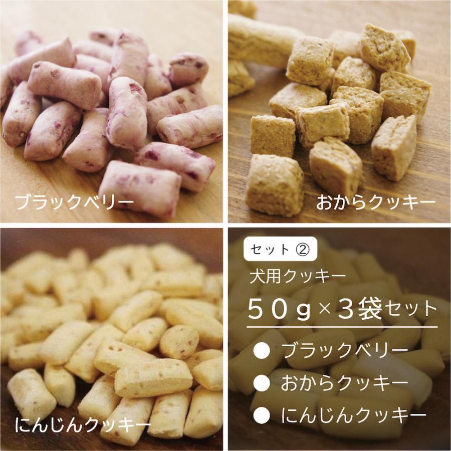 犬用 オリジナル クッキー3点セット おやつ 無添加 国産 ポイント消化 送料無料|dogslife|03