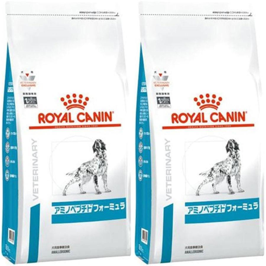 [2袋セット]ロイヤルカナン 食事療法食 犬用 アミノペプチドフォーミュラ ドライ 3kg