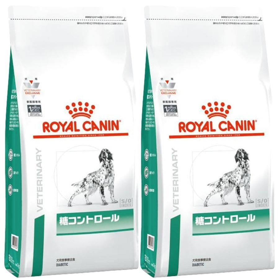 [2袋セット]ロイヤルカナン 食事療法食 犬用 糖コントロール ドライ 3kg