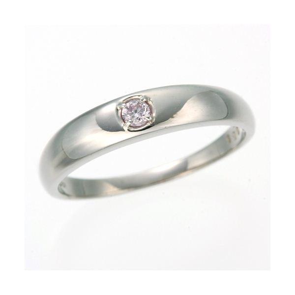 【★大感謝セール】 0.05ctピンクダイヤリング 指輪 ストレート 9号, いわぶん 4345d04c