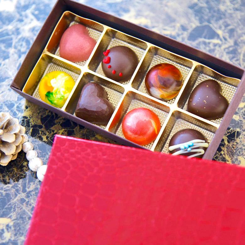 お中元 お返し チョコ ギフトランキング サンピエトロの宝石 8個入(冷凍便)|dolcediroccacarino|02