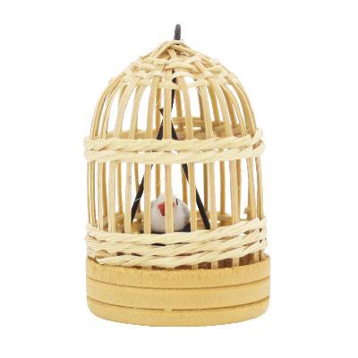 ミニチュア 鳥かご丸型|doll-kamisugiya