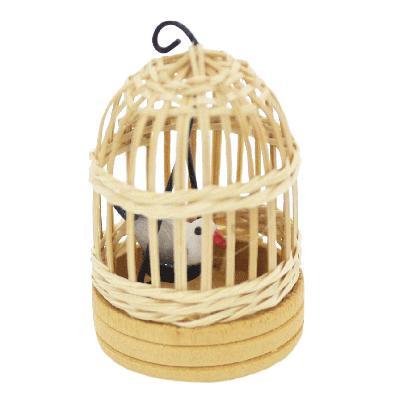 ミニチュア 鳥かご丸型|doll-kamisugiya|02
