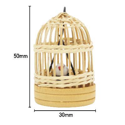 ミニチュア 鳥かご丸型|doll-kamisugiya|04
