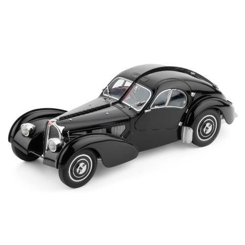 CMC-Classic Model Cars クラックモデルカー Bugatti 57 SC, Atlantic 1937, 黒 Limited Edition