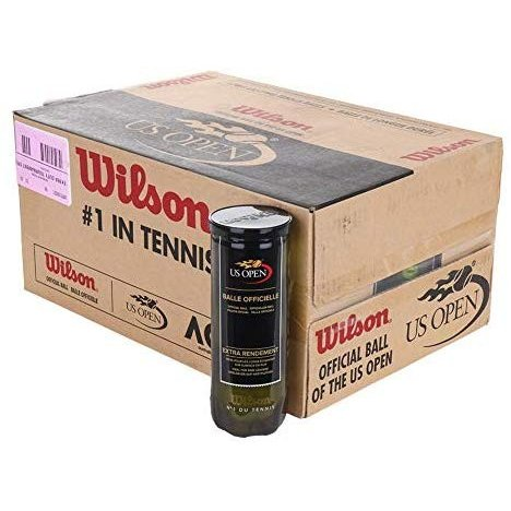 Wilson(ウイルソン) プレッシャーライズド・ボール US Open Extra Duty Tennis Balls - Case by Wilson