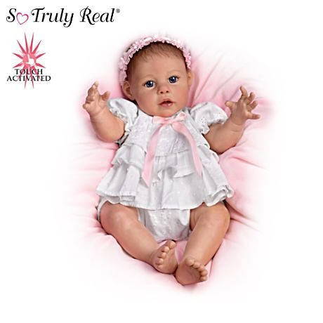【アシュトンドレイク】Touch-Activated Hugging Baby Doll By Artist Jannie/赤ちゃん人形/ベビードール