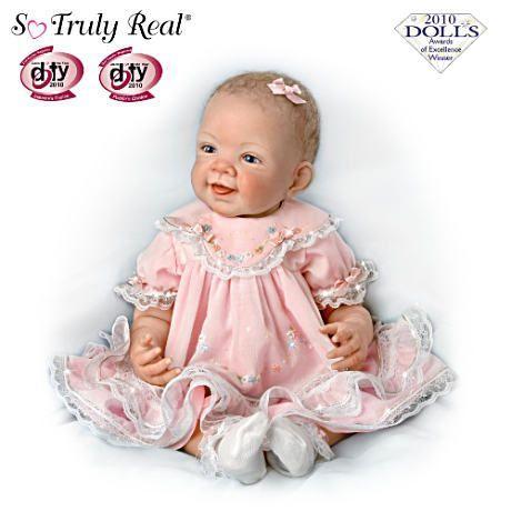 【アシュトンドレイク】★Pretty In ピンク★ 25th Anniversary So Truly Real /赤ちゃん人形/ベビードール