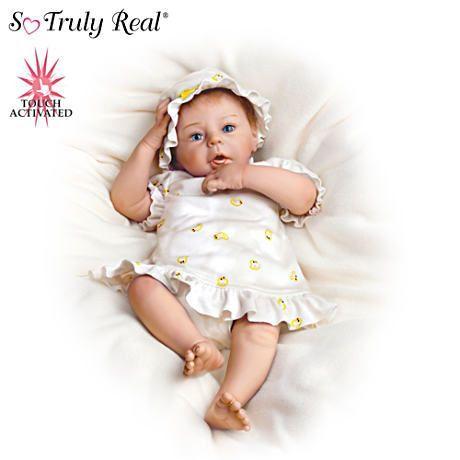 【アシュトンドレイク】The Lifelike ★Breathing★ Baby Girl Doll/赤ちゃん人形/ベビードール