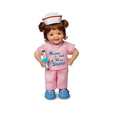 【アシュトンドレイク】Cheryl Hill Lifelike Miniature Dolls Honor Nurses/赤ちゃん人形/ベビードール