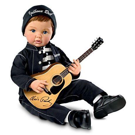 【アシュトンドレイク】★Jailhouse Rock™★ Musical Baby Doll With FR/赤ちゃん人形/ベビードール