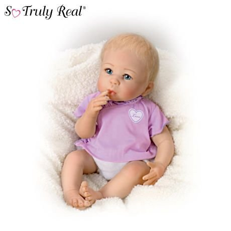 【アシュトンドレイク】Linda Murray Lifelike Baby Girl Doll: Little Love/赤ちゃん人形/ベビードール