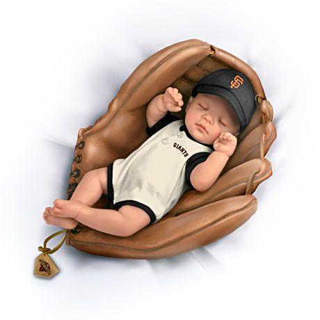 【アシュトンドレイク】MLB 2012 World Series Champs San Francisco Giants/赤ちゃん人形/ベビードール