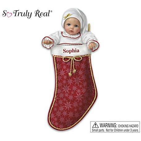 【アシュトンドレイク】★My Christmas Baby★ Doll With Personalized Stock/赤ちゃん人形/ベビードール