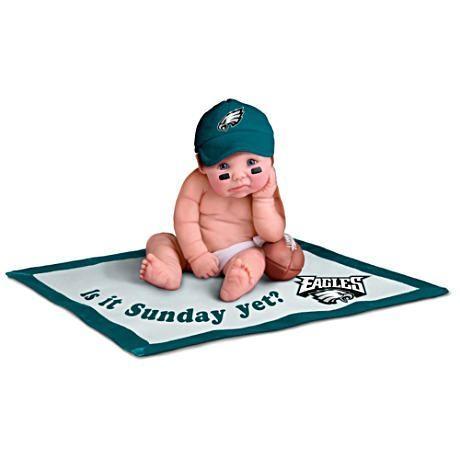 【アシュトンドレイク】NFL Licensed Philadelphia Eagles Baby Doll Collect/赤ちゃん人形/ベビードール