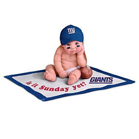 【アシュトンドレイク】NFL Licensed New York Giants Baby Doll Collection/赤ちゃん人形/ベビードール