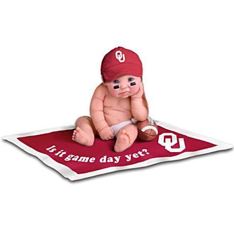【アシュトンドレイク】Officially Licensed Oklahoma Sooners Baby Doll Col/赤ちゃん人形/ベビードール