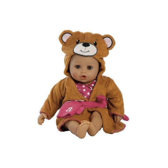 【アドラ】入浴赤ちゃん - ベア/Adora赤ちゃん人形/ベビードール/抱き人形