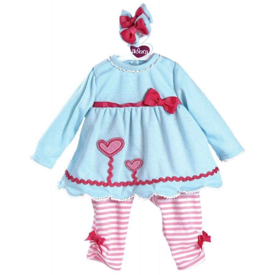 【アドラ】ハーツ咲く/Adora赤ちゃん人形/ベビードール/抱き人形